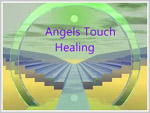Reiki therapist Angel Touch logo